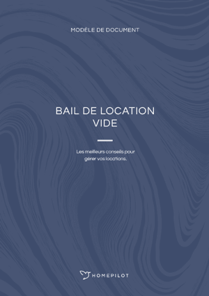 Bail de location vide